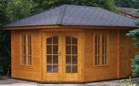penta 3 corner summerhouse small image